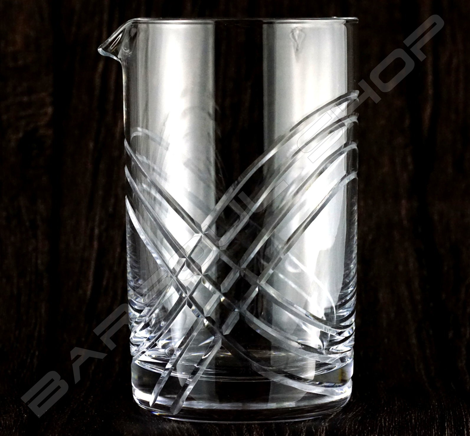 水晶攪拌杯 無極限款 Crystal mixing glass (unlimited) H15cm