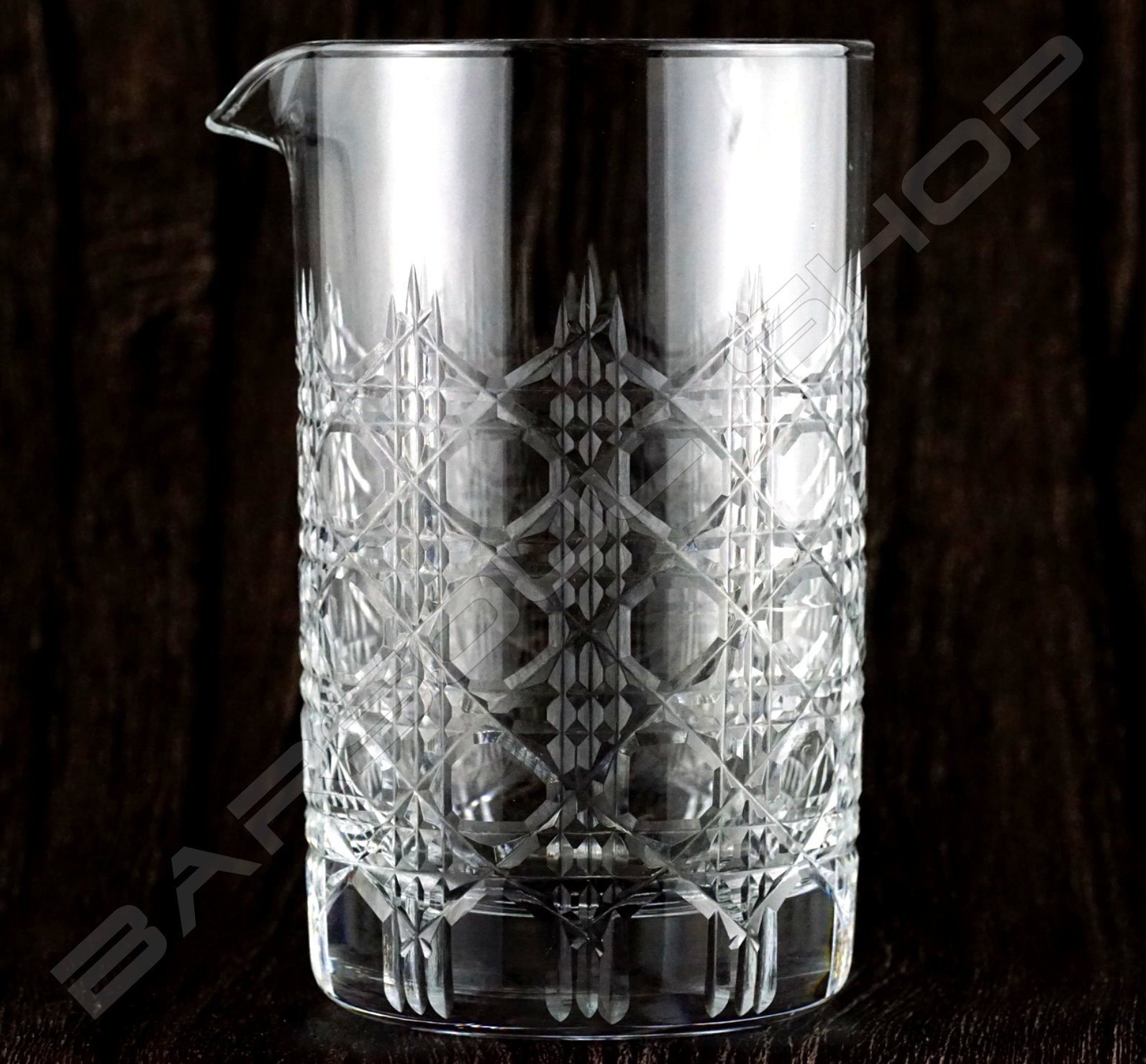 水晶攪拌杯 皇爵款 Crystal mixing glass (Royal knight) H15cm