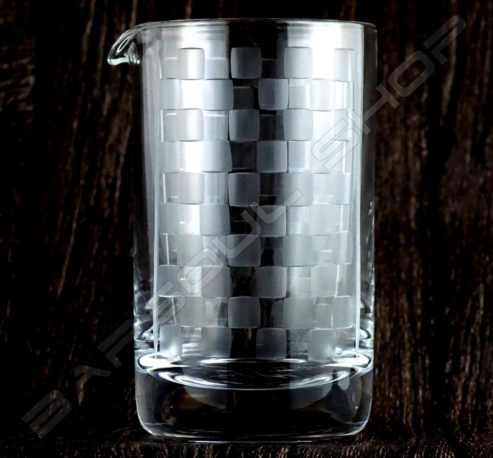 水晶攪拌杯 馬賽款B Crystal mixing glass (Mosaic B) H15cm