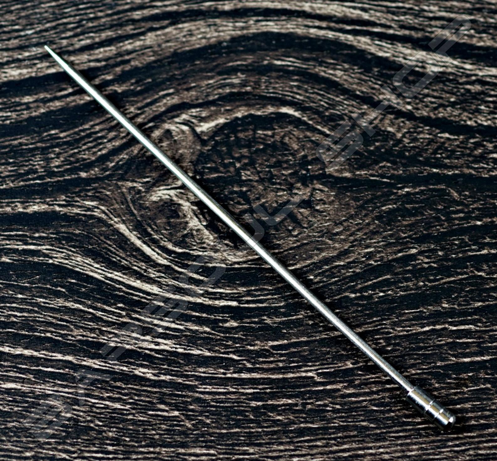 金屬劍插(圓頭銀色)(10送2) steel cocktail stick(silver)