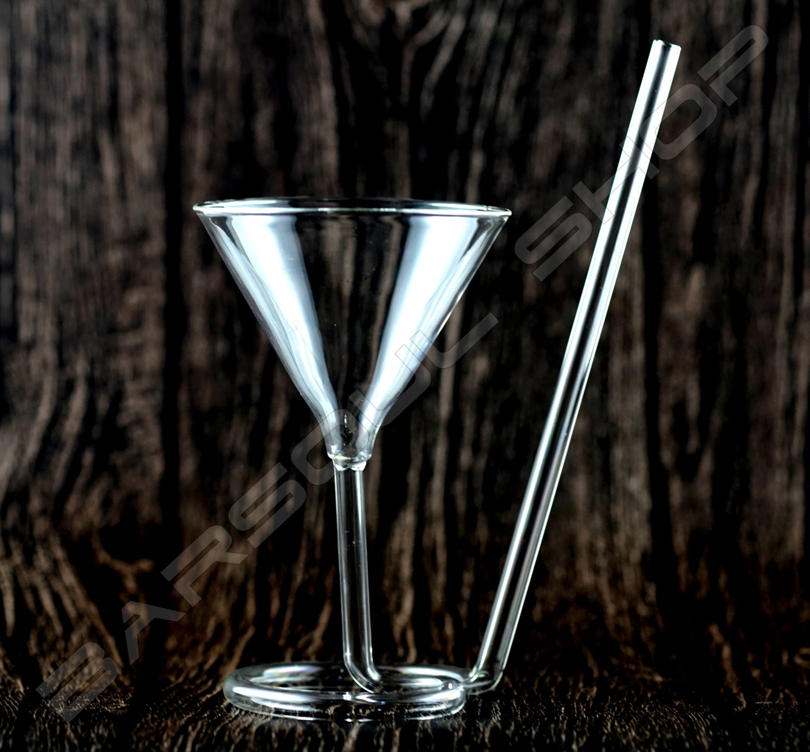 吸管旋轉造型杯118ml Pipette rotate glass