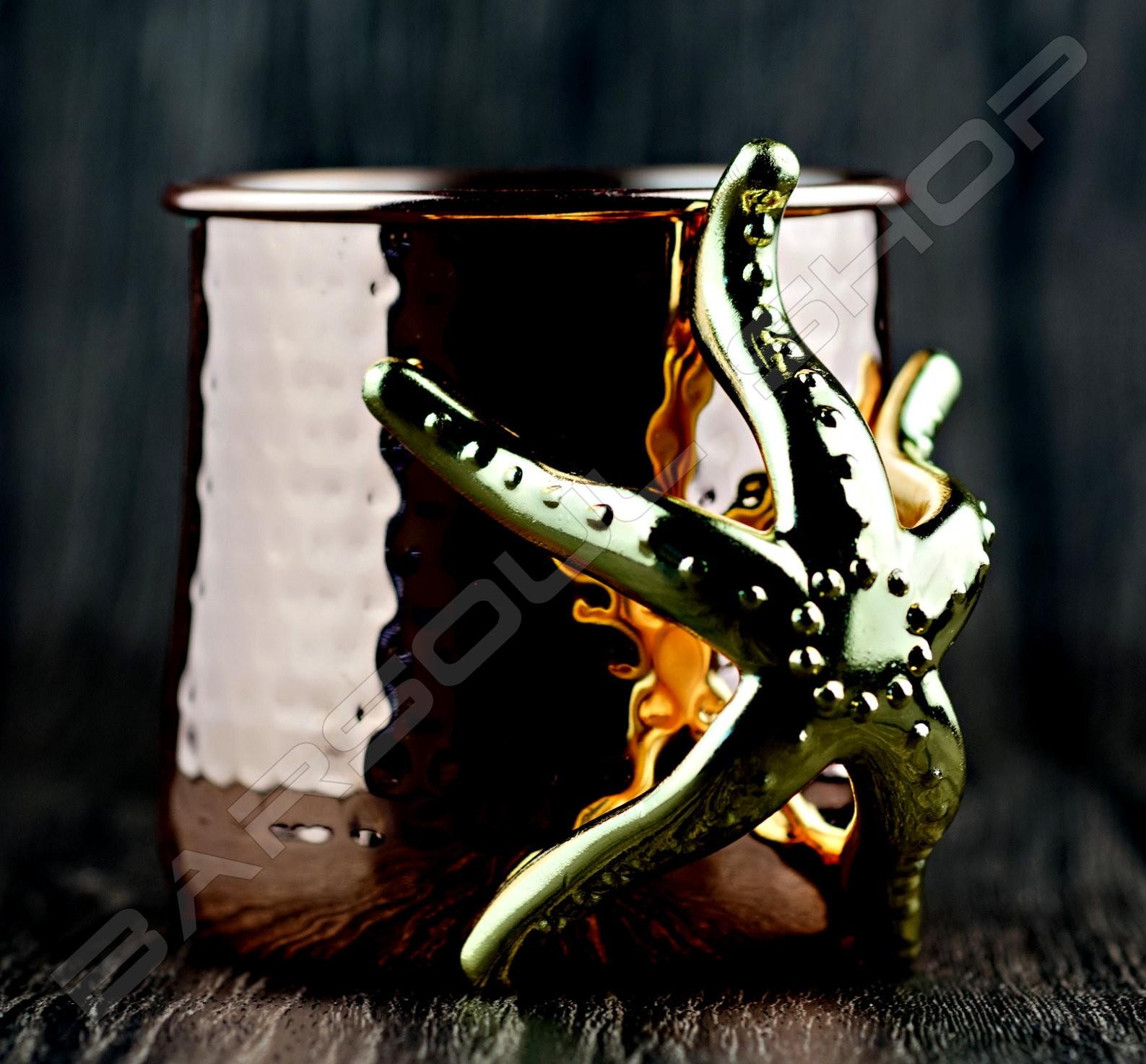 海星驢子鍍銅杯(霧面) Donkey copper cup