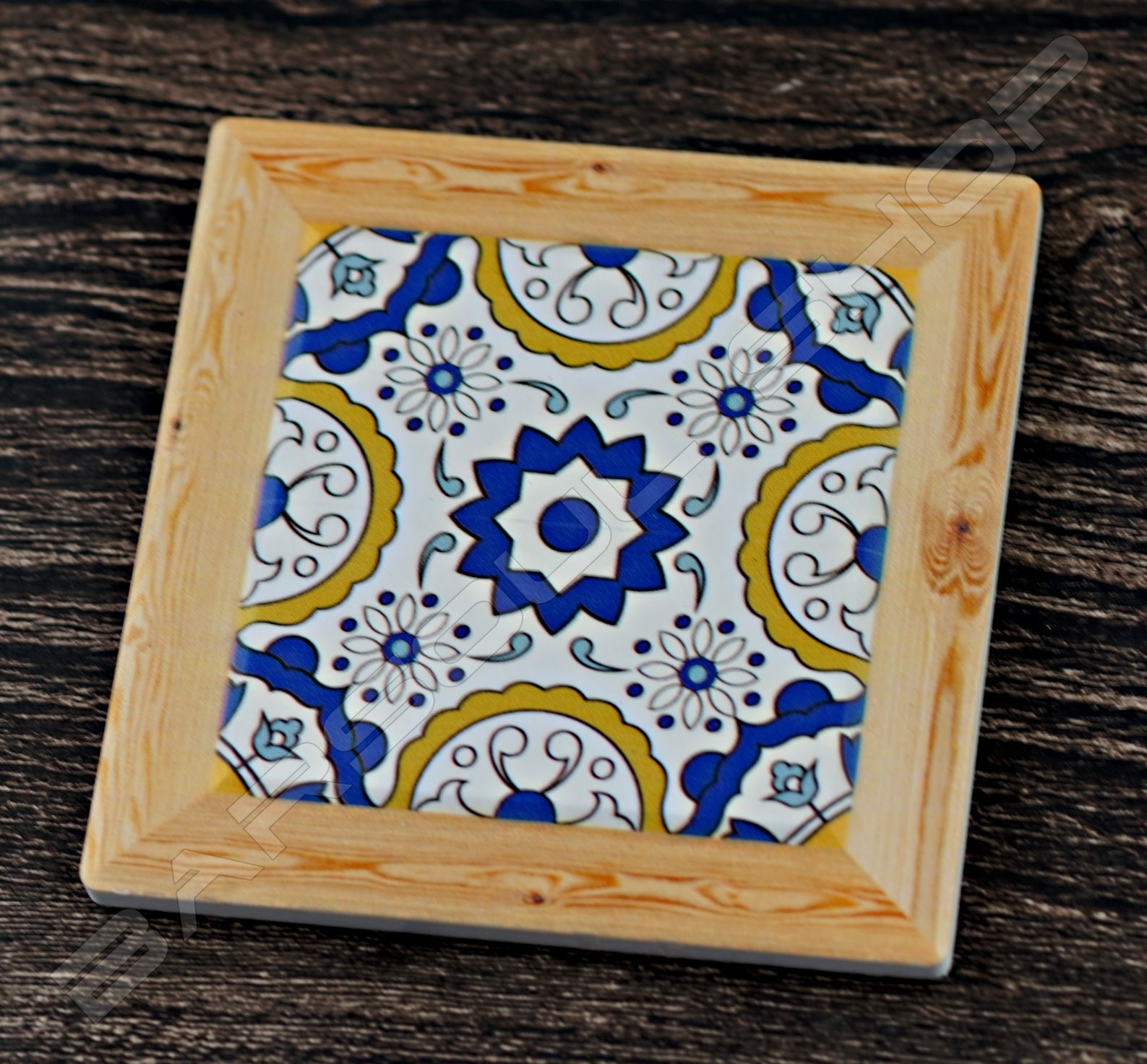 方形陶瓷杯墊(B) Square ceramics coaster