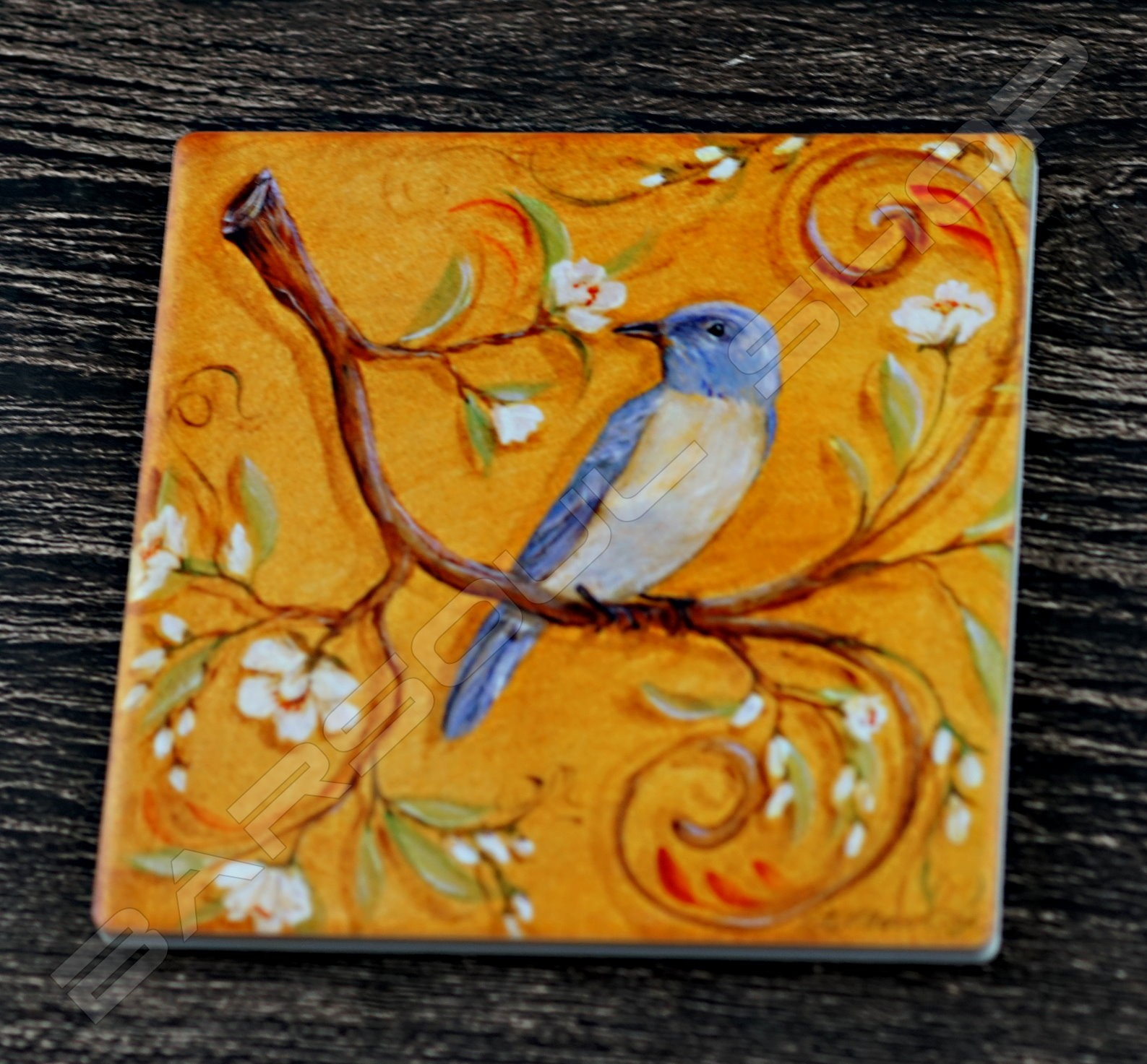 方形陶瓷杯墊(C) Square ceramics coaster