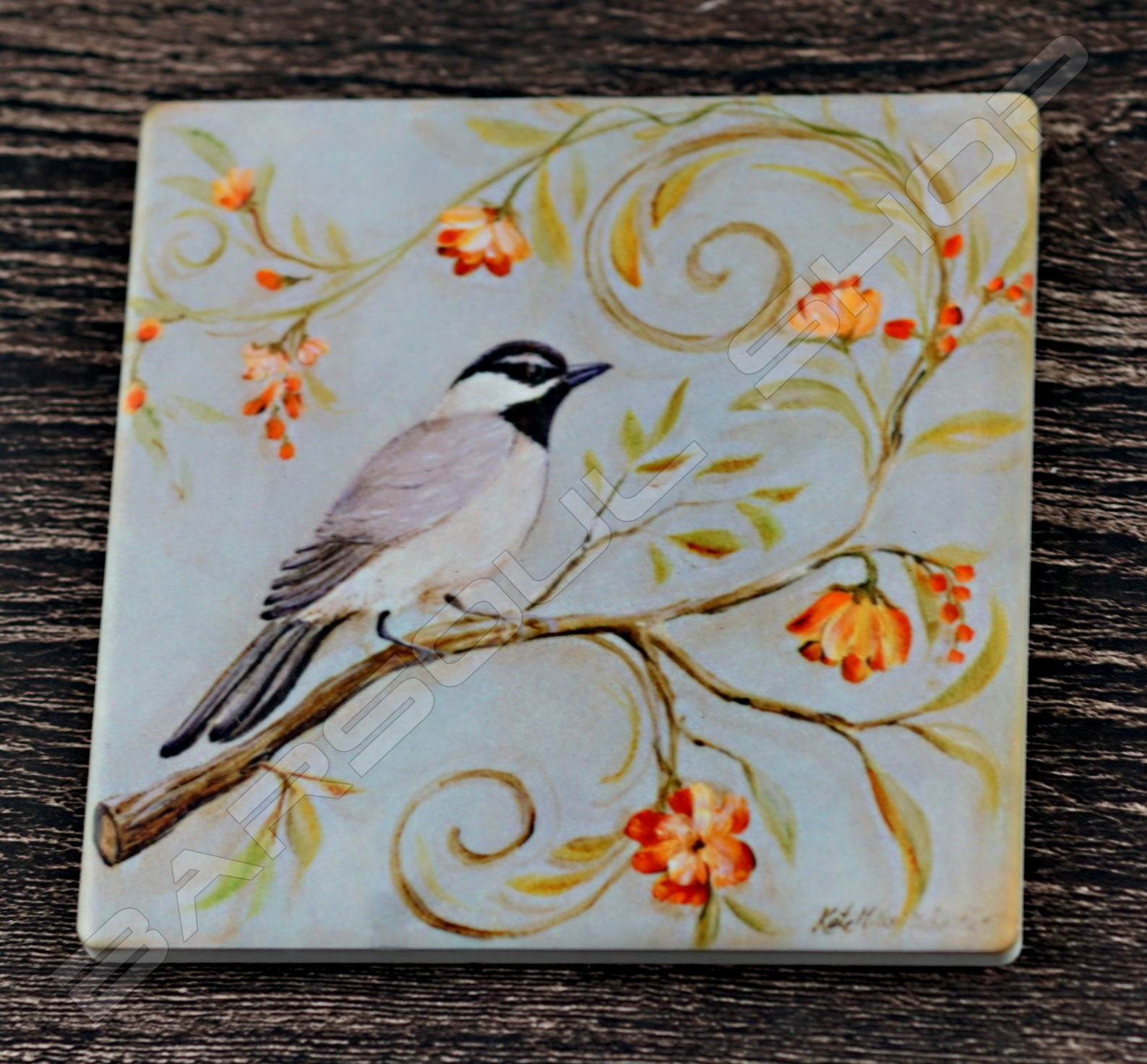 方形陶瓷杯墊(E) Square ceramics coaster