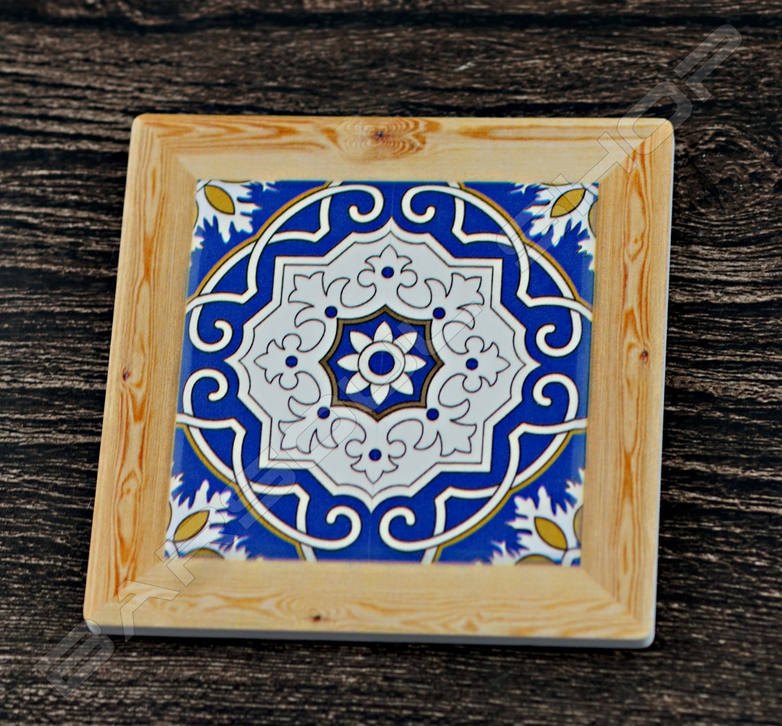 方形陶瓷杯墊(A) Square ceramics coaster