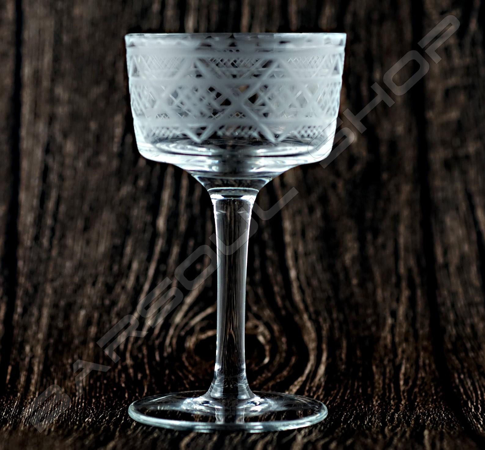 波西米亞風雞尾酒杯A 145ml Bohemian cocktail glass