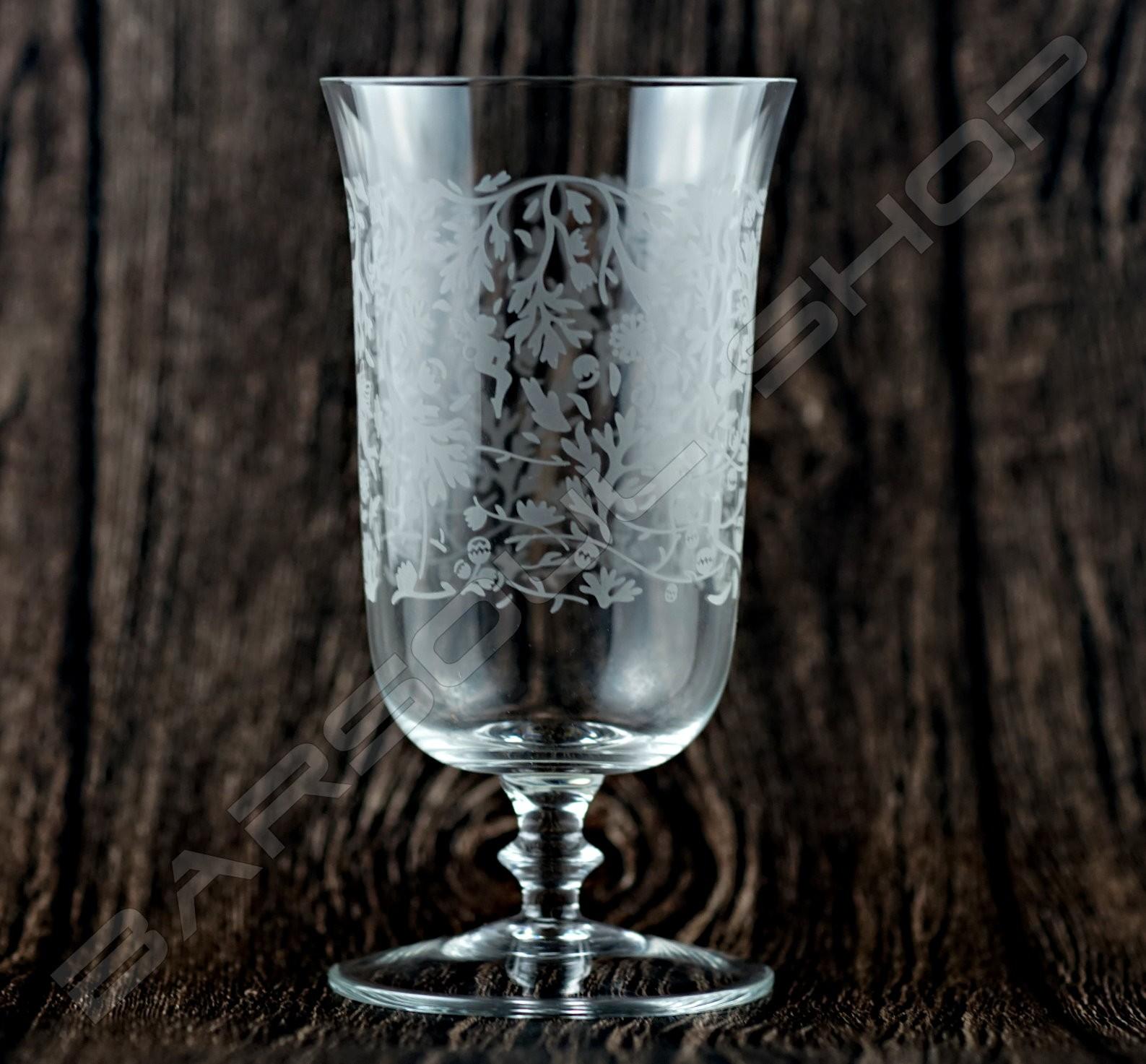 芫荽騰風鈴高腳杯300ml  Coriandrum sativum Lace cocktail Glass