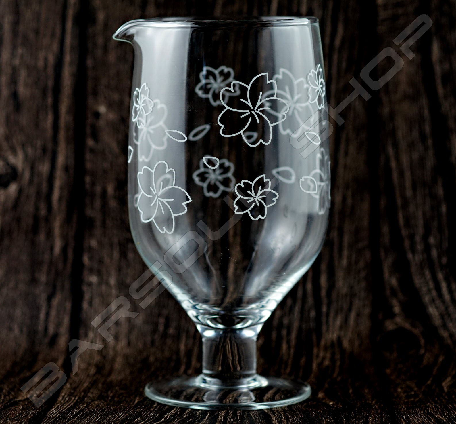 高腳櫻花攪拌杯800ml High angle Cherry mixing glass