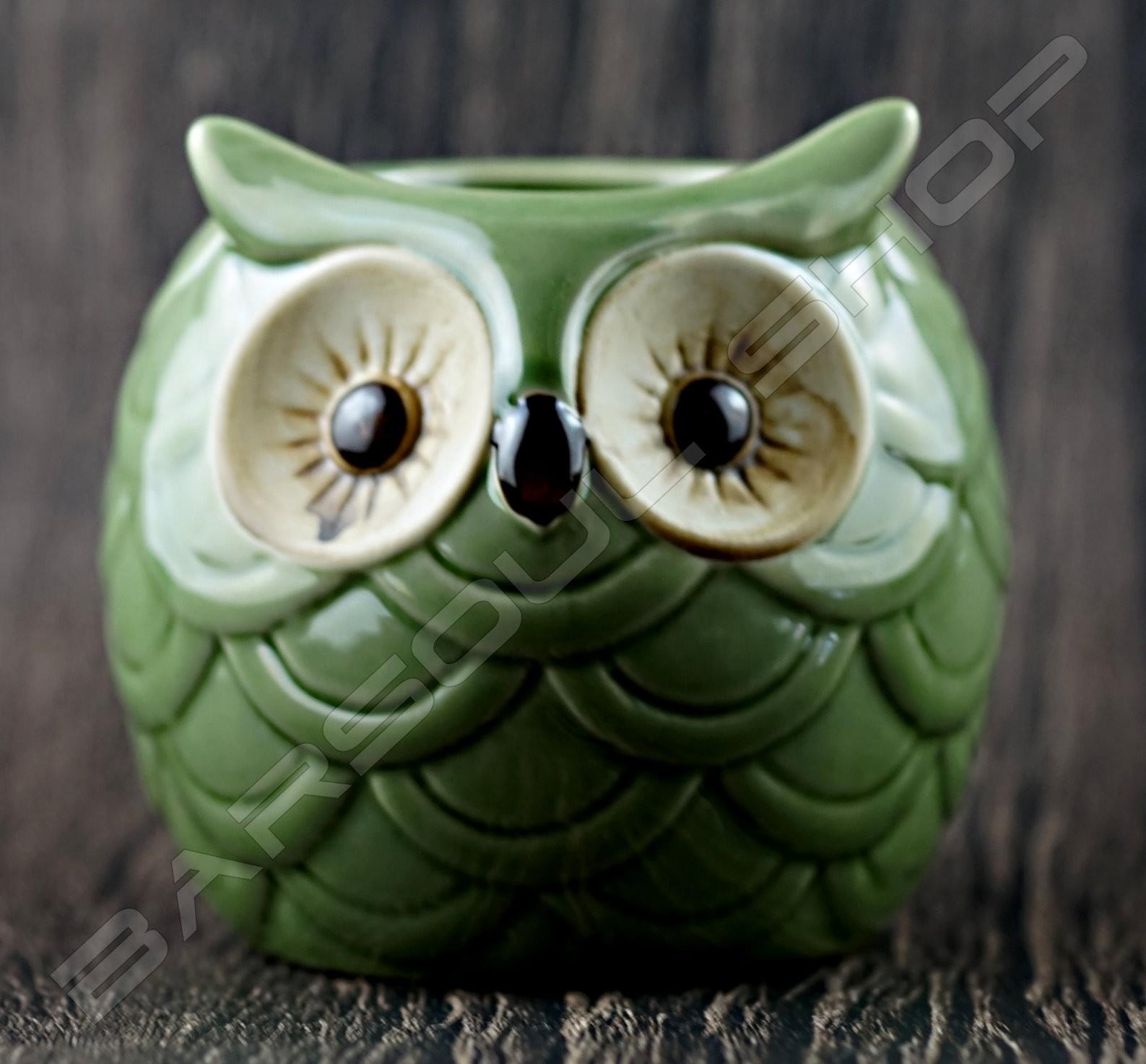 貓頭鷹造型酒杯600ml TIKI cup