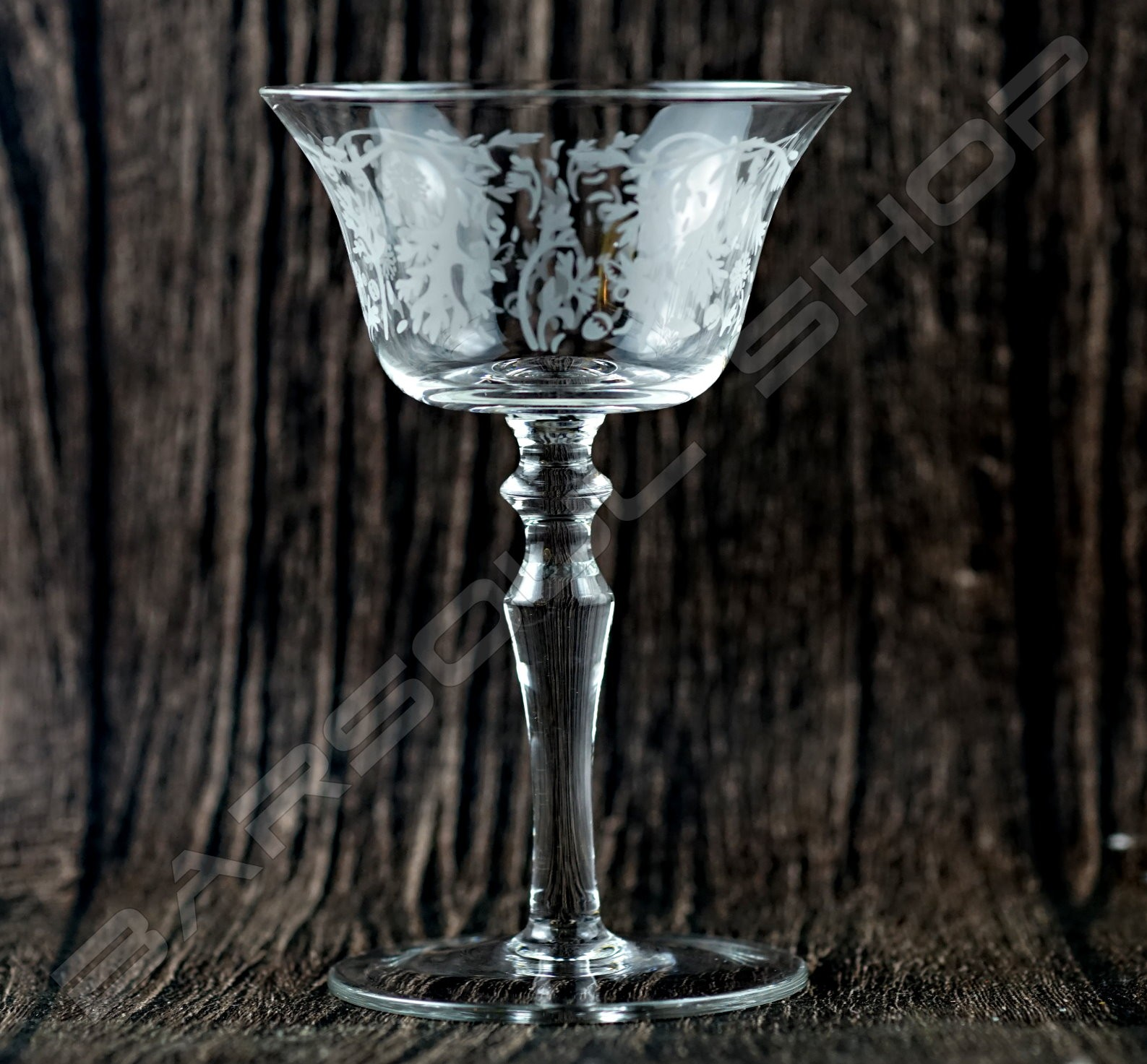 芫荽雞尾酒杯135ml Coriandrum sativum Lace cocktail Glass