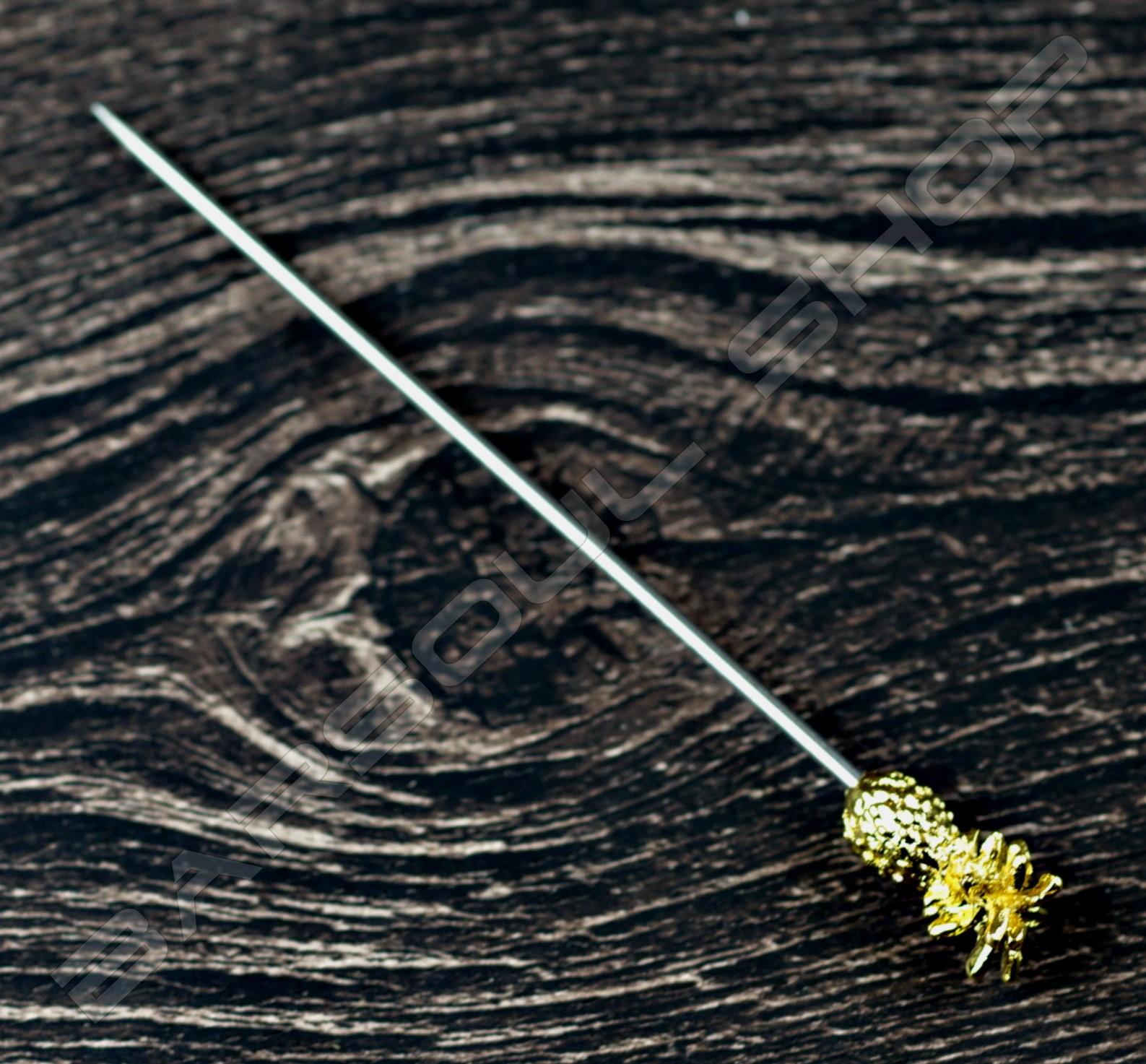 鳳梨金屬劍插 Pinaapple steel cocktail stick