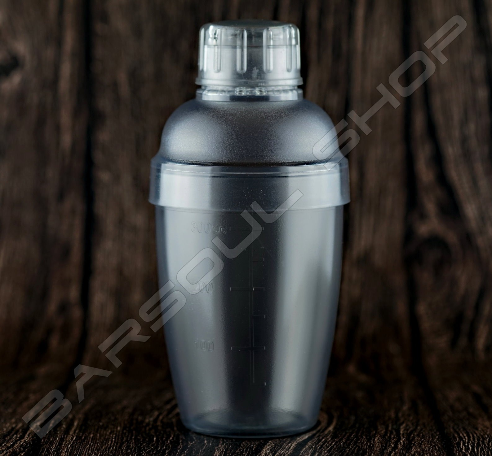 傳統塑料刻度雪克杯350ml Plastic Shaker(transparent)