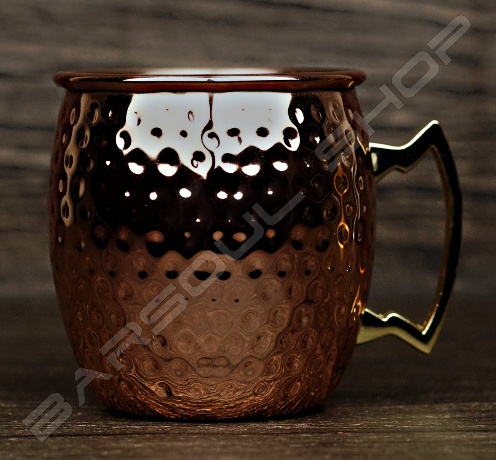 驢子鍍銅杯(霧面)500ml Donkey copper cup(matte)