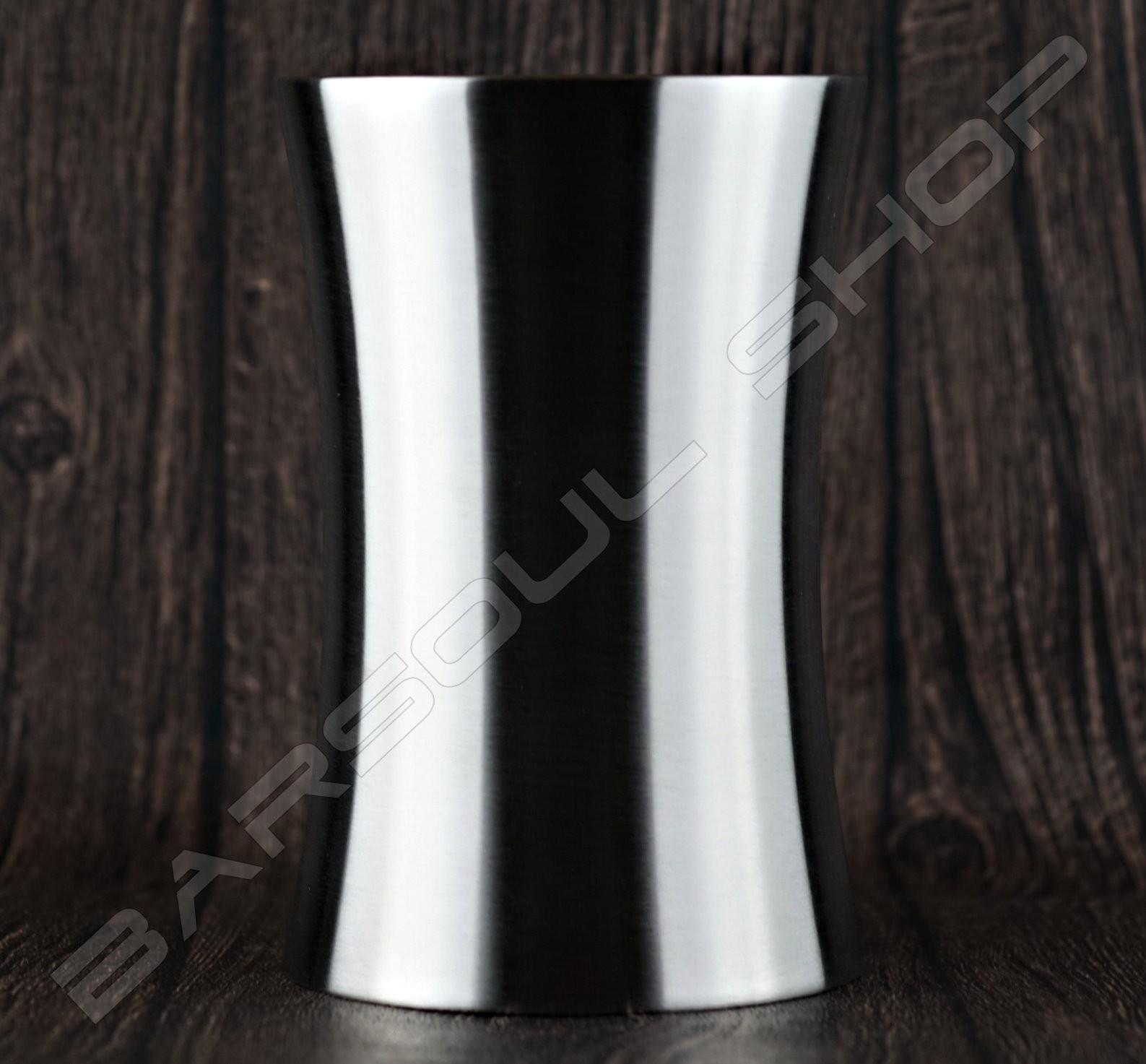 腰身雙層不鏽鋼吧匙筒 Curve barspoon cylinder