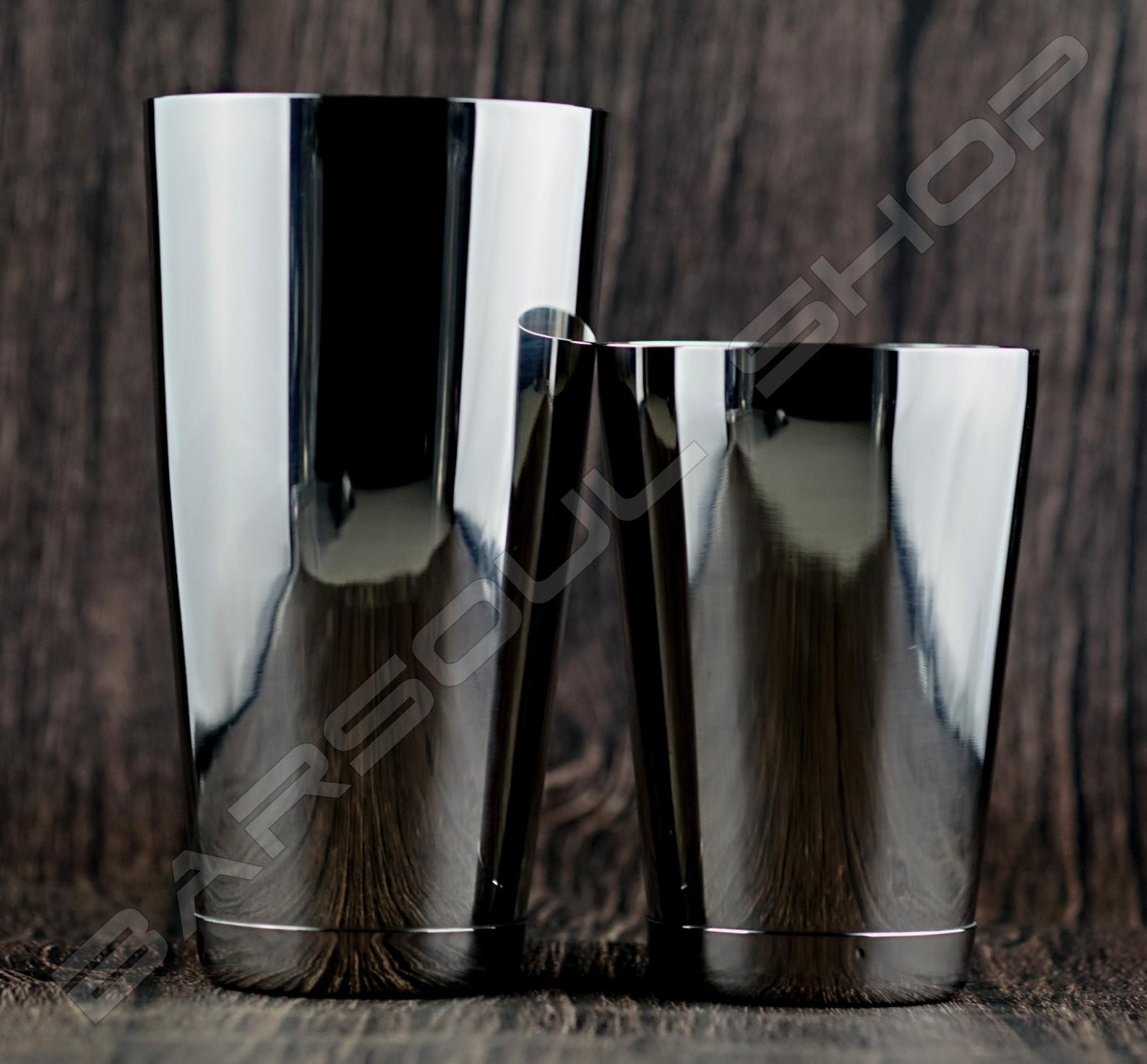 二節式波士頓shaker組Boston shaker set 90 or 93mm (silver)