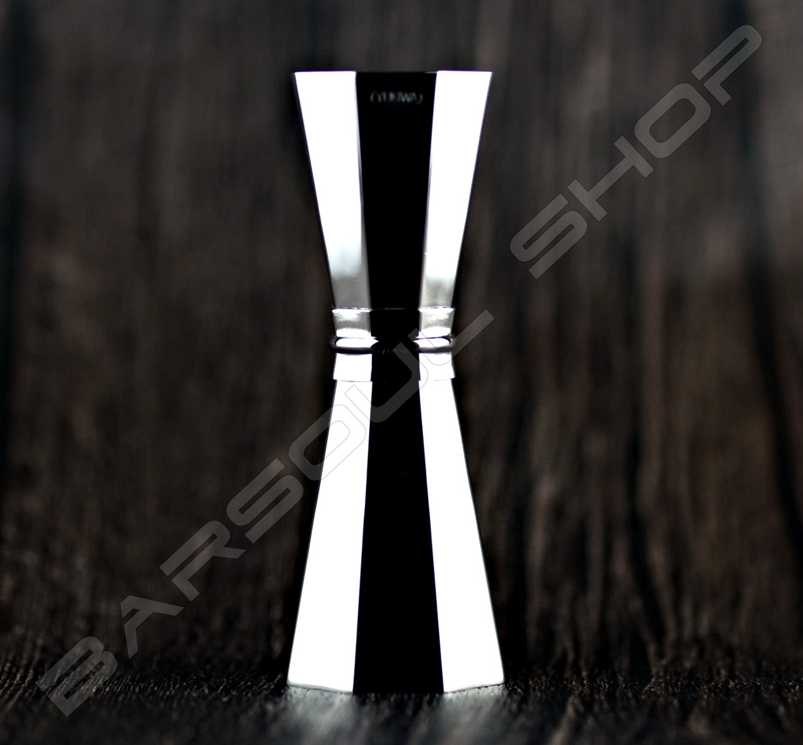 Yukiwa八角亮銀量酒器30/45ml Octagon Jigger bright silver