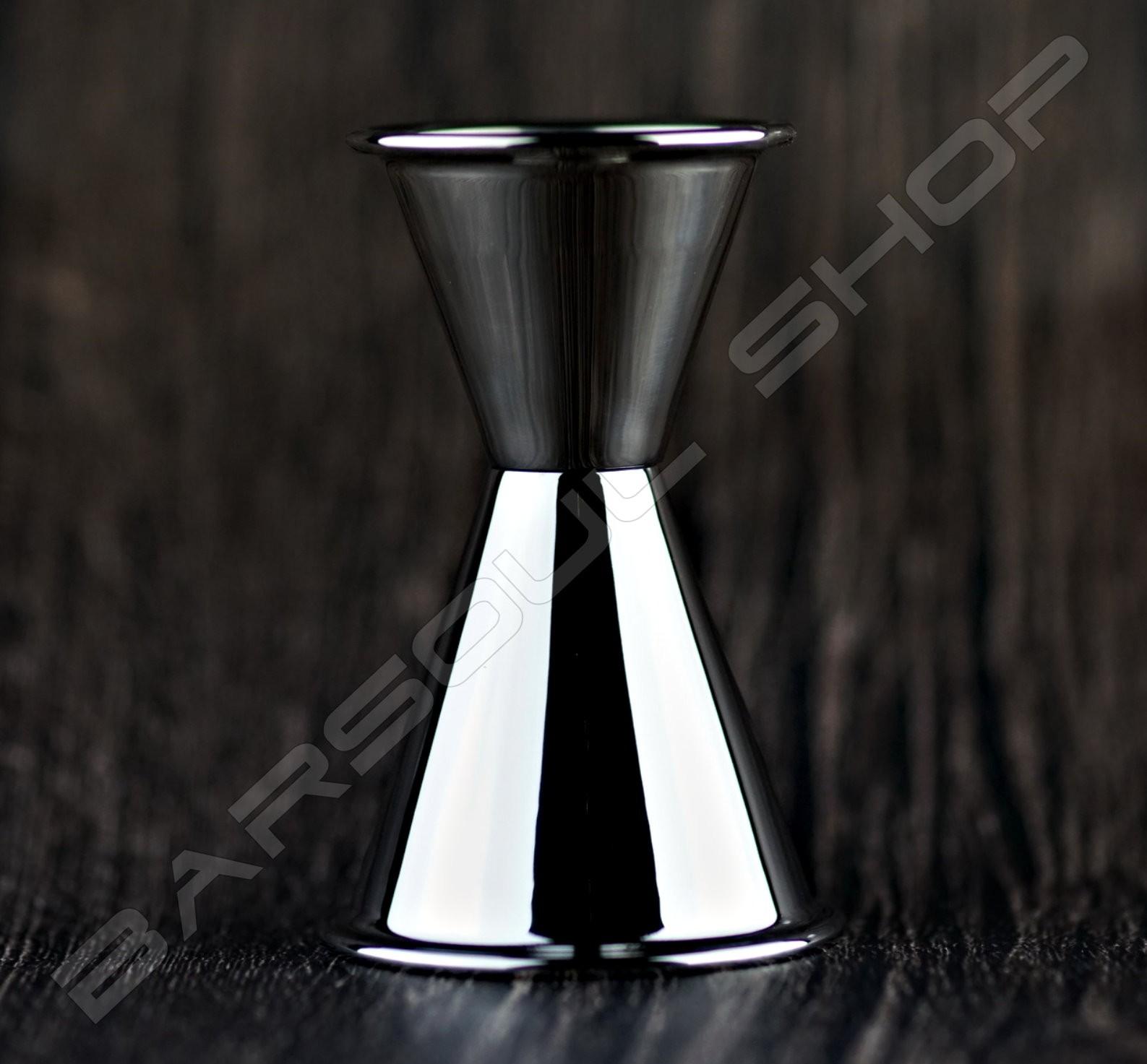 日式厚質量酒器(亮銀)30/60ml Japan thick  jigger  bright silver