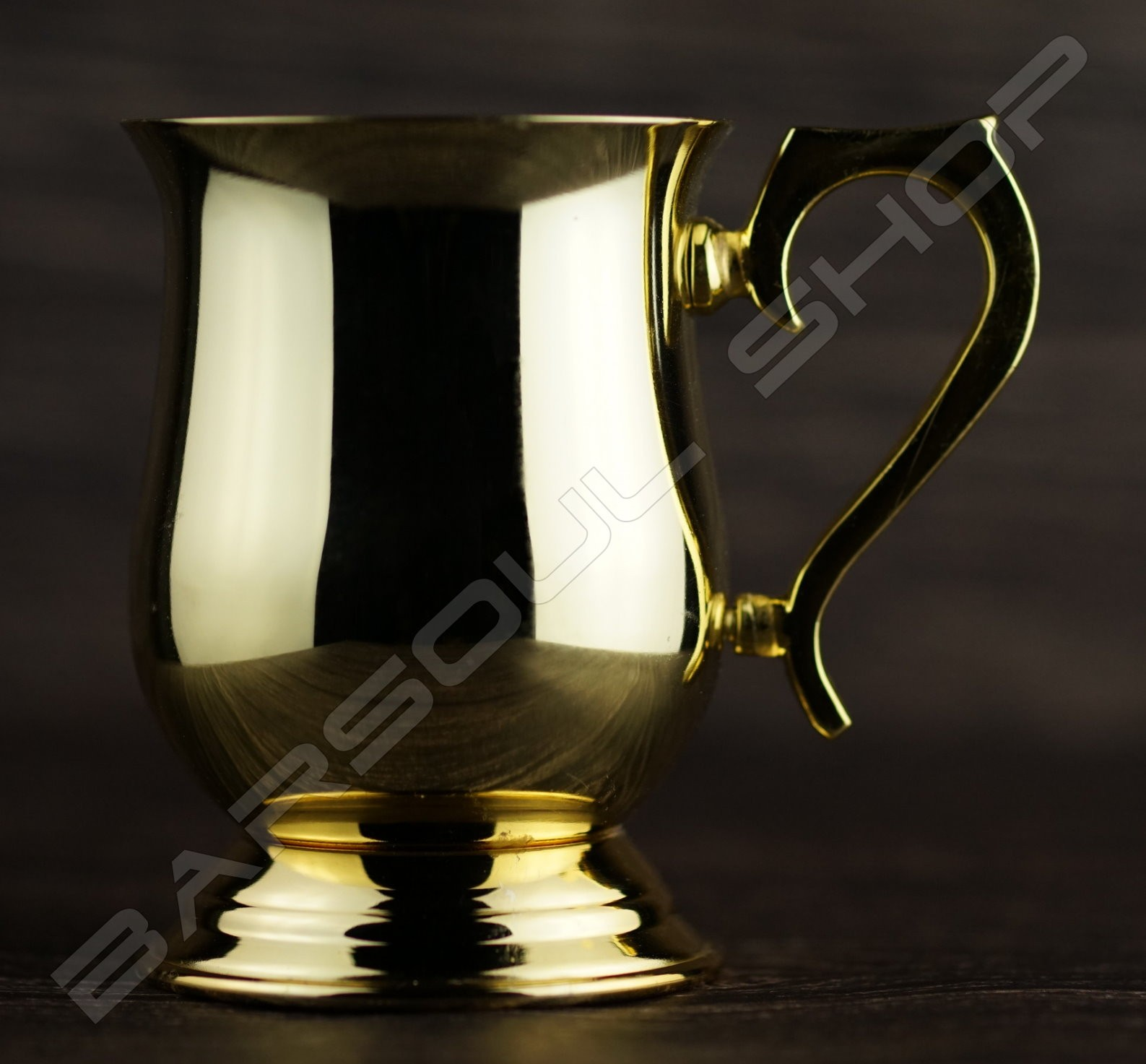 腰身鍍金杯  Curve gold cup