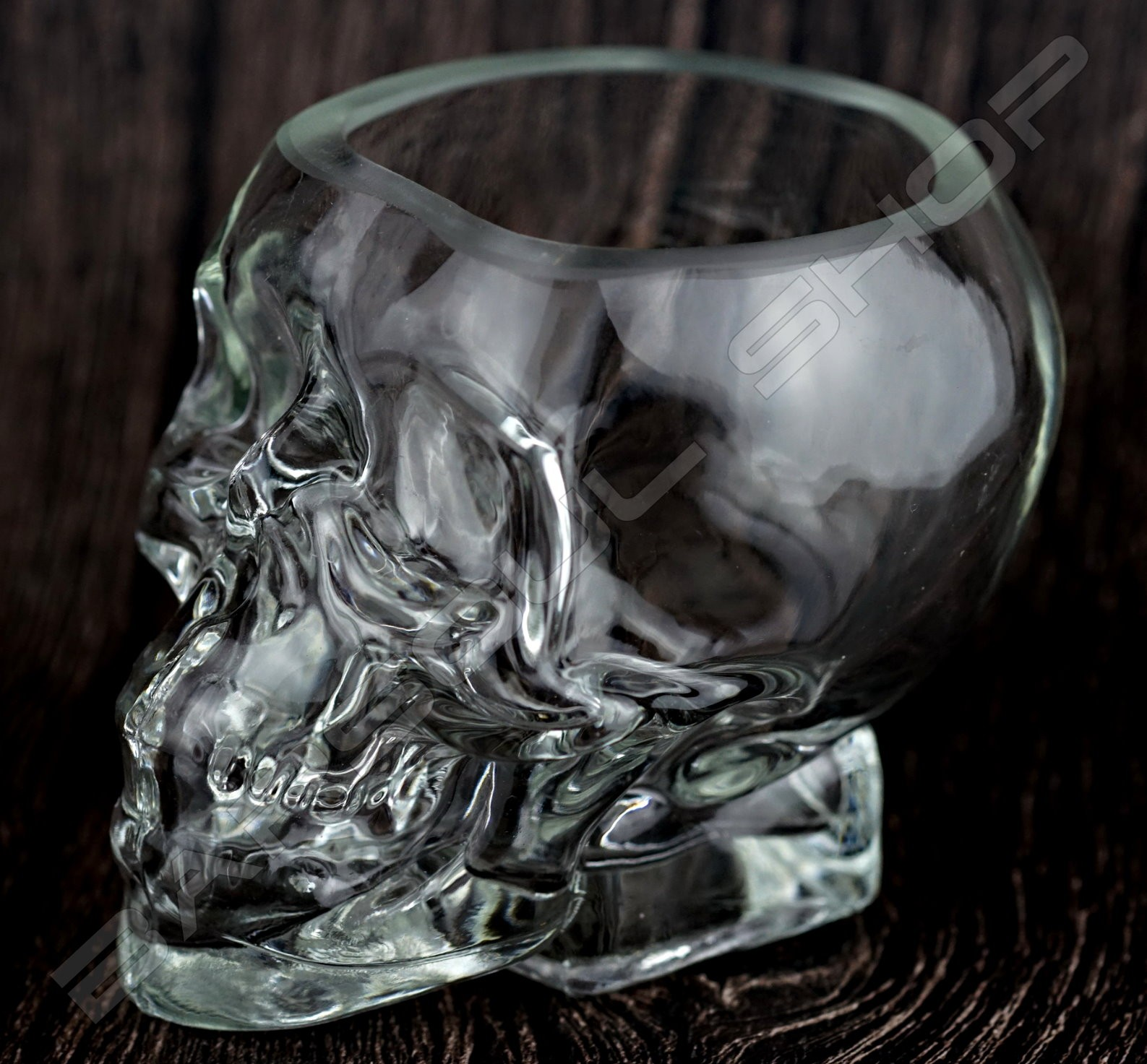 水晶骷髏造型杯300ml Crystal mixing glass Skull