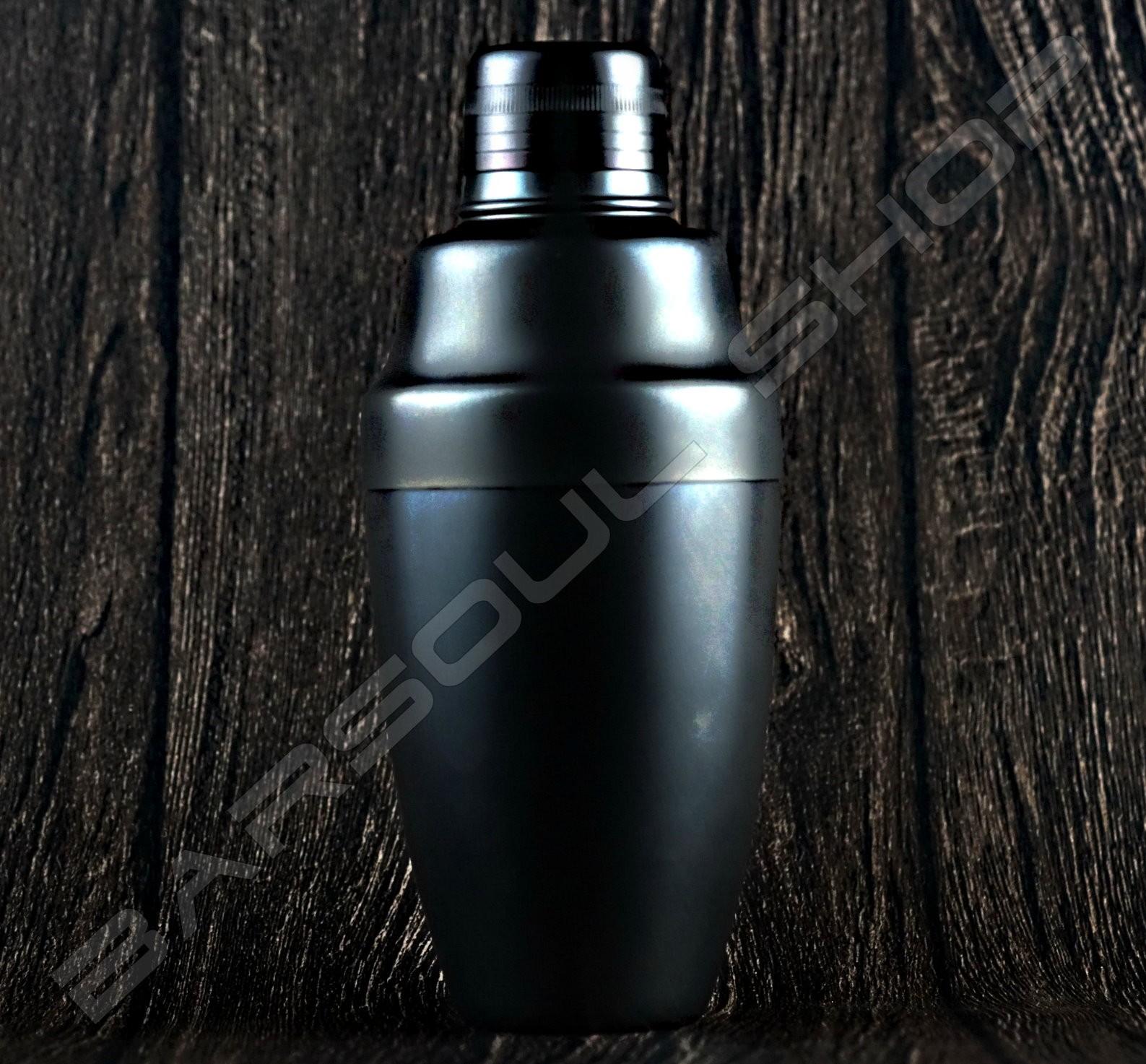 Japan Yukiwa 霧面黑 500ml shaker matte black