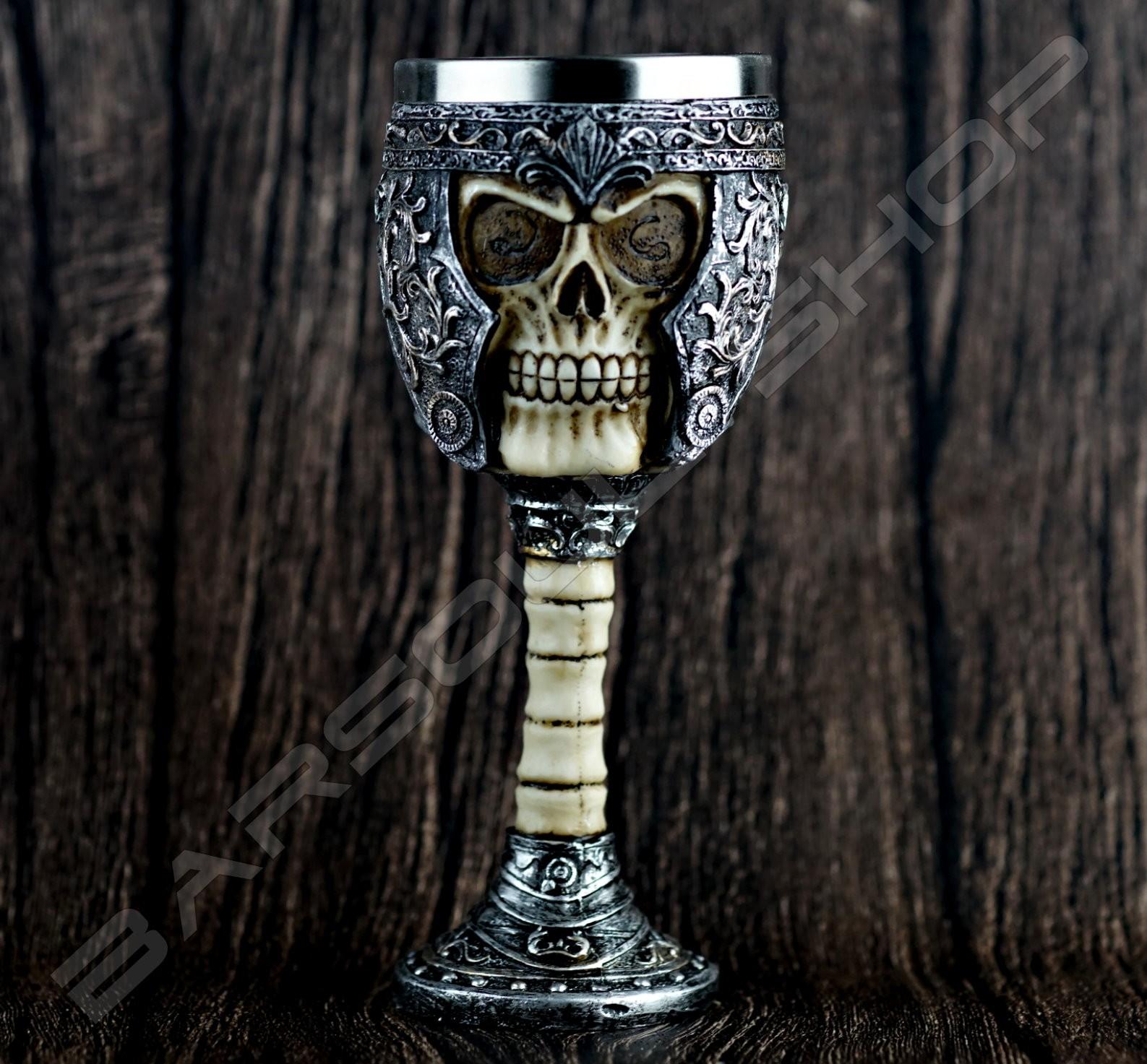 骷魯造型塑料鋼杯 Plastic stainless Skull (B)
