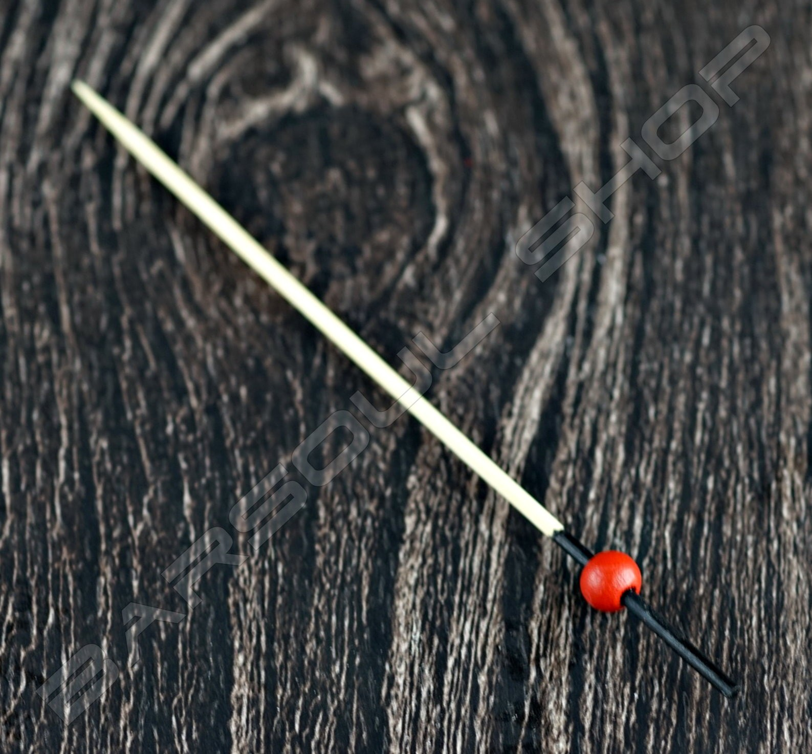 黑頭紅珠裝飾物插(120mm)約100支 Black red bead cocktail stick
