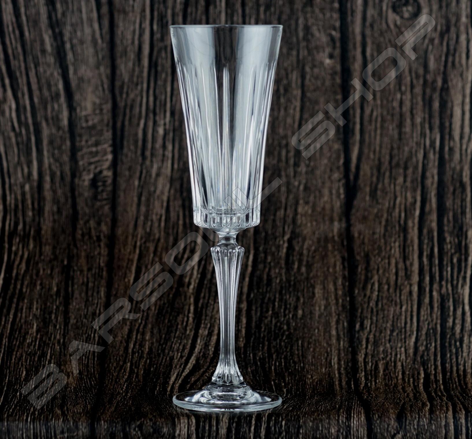 義大利無鉛水晶香檳杯210ml 6pcs Italy RCR champagne cup