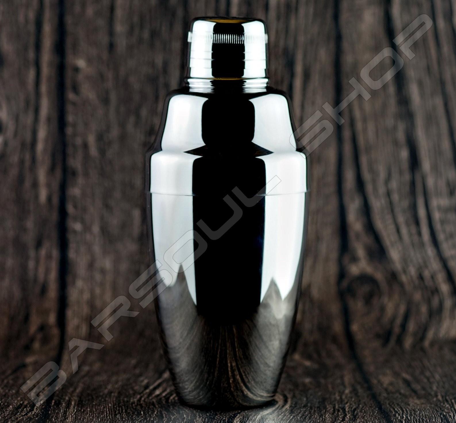 Japan Yukiwa 亮面銀 360ml shaker bright silver