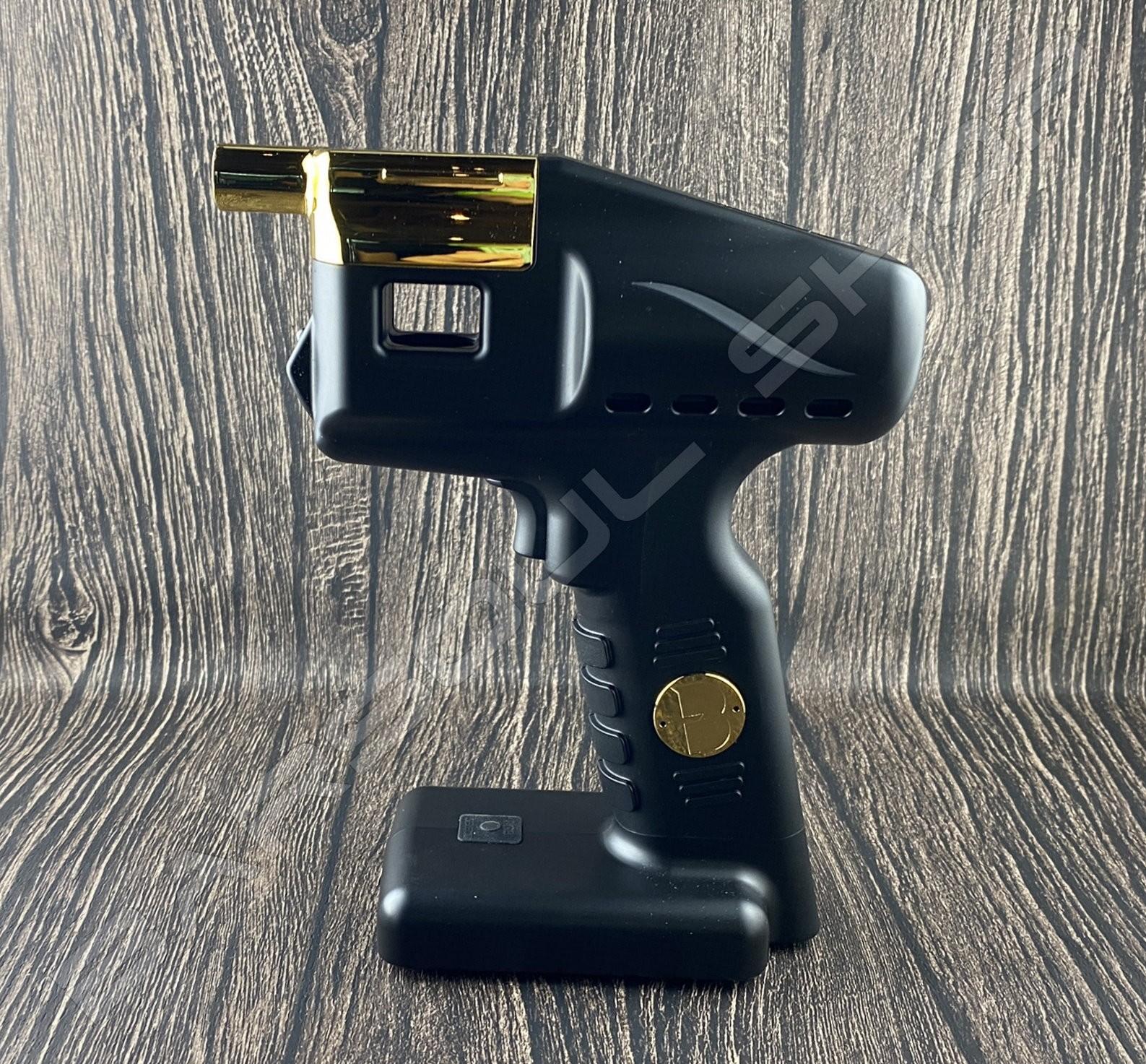 2021 英國新款 FLAVOUR BLASTER 二合一泡泡煙燻槍組(金gold)