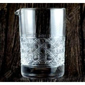 水晶攪拌杯 古窗紋 Crystal mixing glass Old Window H13cm