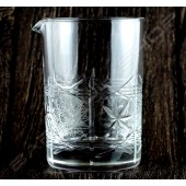 水晶攪拌杯 千子星紋 Crystal mixing glass Star H13cm