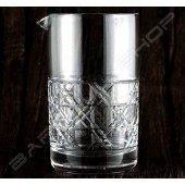 水晶攪拌杯 復古窗款630ml Crystal mixing glass (Retro windows) H15cm