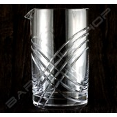 水晶攪拌杯 無極限款630ml Crystal mixing glass (unlimited) H15cm