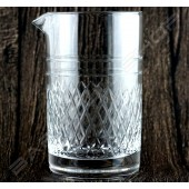 水晶攪拌杯 鑽石款 Crystal mixing glass (Diamond) H15