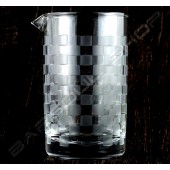 水晶攪拌杯 馬賽款A 630ml Crystal mixing glass (Mosaic A) H15cm