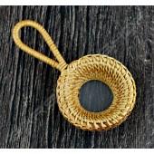 竹藤編濾網 Bamboo rattan filter