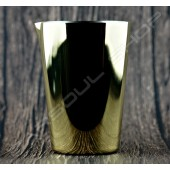 輕量型金屬攪拌杯(鍍金)500ml Lightweight mixing cup(plating gold)