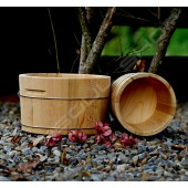 圓形檜木冰塊桶(釀酒)(20cm) Round Beech Ice Bucket (Wine)