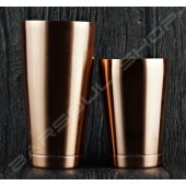 New Boston shaker set(plating copper)