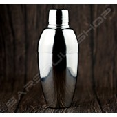 圓弧輕量型三節式雪克杯(銀)450ml Three-section shaker(silver)