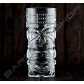 長柱型玻璃四面孔420ml TIKI cup