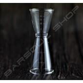 傳統玻璃量酒器 30/45ml Classic glass jigger
