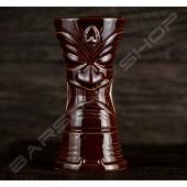 長柱型- 深棕魔王 TIKI cup