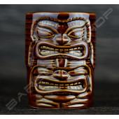 馬克型棕雙頭370ml TIKI cup