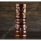 長柱型蛙鏡臉 -深棕 TIKI cup