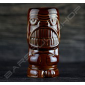 長柱笑臉牙(深棕) TIKI cup