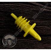 彩色酒嘴(黃)Plastic Pour (Yellow)