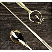 【日本直送】Japan 鈴鐺吧叉匙(金) 30cm bell barspoon bright glod