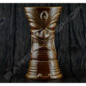 長柱型- 淺棕魔王 TIKI cup
